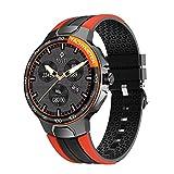 Relojes inteligentes para hombres y mujeres, reloj inteligente para teléfonos Android y teléfonos iOS, pantalla táctil completa de 1.28 ', podómetro a prueba de agua IP68, reloj Fitness Tracker con