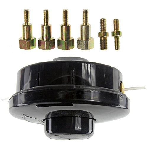 Spares2go Fadenspule für Freischneider, Doppelfadenkopf für Motorsense, Standardpassform