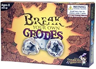 Break Your Own Geodes Kit 12 Whole Geodes
