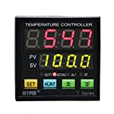 MYPIN Universal Programmable Digital Adjustor PID F/C Thermostat Temperature Controller Control TA4-RNR, Powered by 90-265V AC/DC, Range: -1999 to 9999, Accuracy: 0.2% (CE APPROVED)