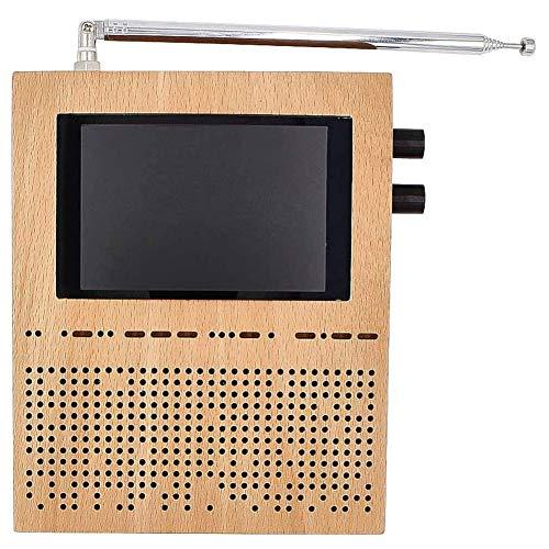 Hieefi Malaquita Sdr Receptor De Radio Sdr Software Radio Dsp Sdr Jamón Receptor De Reducción De Ruido Modo Completo 50k-200mhz Marrón Claro