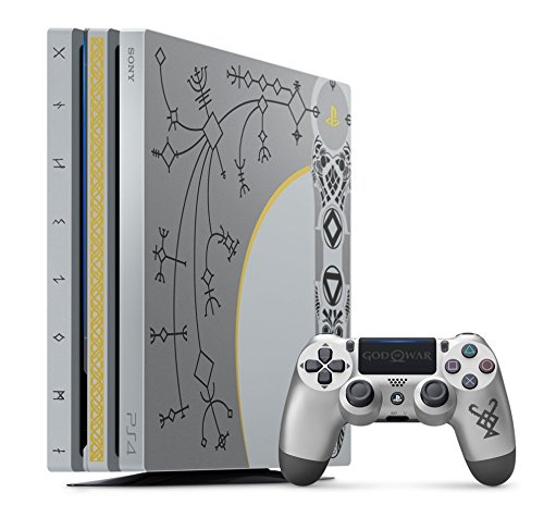 Sony Playstation 4 Pro 1TB God of War Limited Edition Multicolor ...