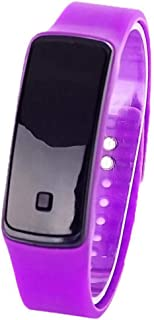 docooler Orologio elettronico Orologio Sportivo in Silicone LED ha portato l'orologio per i Bambini Studenti