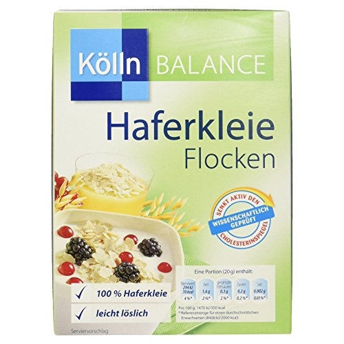 Kölln Balance Haferkleie Flocken 3x250g