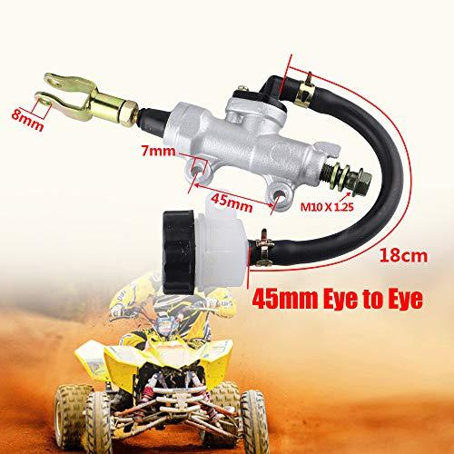 FLYPIG Rear Brake Master Cylinder 125cc ATV 150cc ATV 200cc ATV 250cc ATV 50c - 125cc ATV For Yamaha