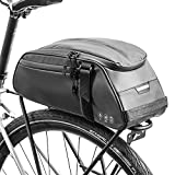 UBORSE Gepäckträgertasche für Fahrrad Wasserdicht Fahrradtasche Gepäckträger Multifunktional Satteltaschen Gepäcktasche Fahrradpacktasche mit Schultergurt Transporttasche