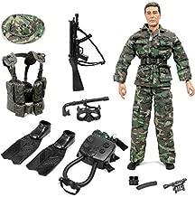 Click N' Play Special Ops Navy Seal Swat Team 12