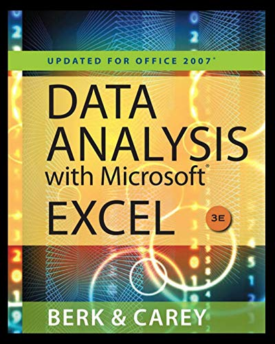 Data analysis with Microsoft Excel : Computer course full information (English Edition)