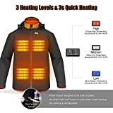 Zoom IMG-1 giacca riscaldante elettrica uomo donna