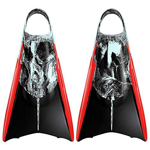 Kpaloa Aletas Triton Storm Bodysurf Bodyboard, Medium, Negro, Gris