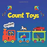 Count Toys: Fun Picture Puzzle books For 2-5 Yers Old