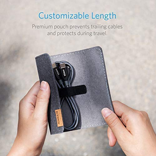 Anker Powerline+ 1,8m USB C Kabel, Extrem Langlebig für USB-C Geräte Inklusive Galaxy S8, S8+, S9, S10, Google Pixel, Nexus 6P, Huawei Matebook, MacBook usw
