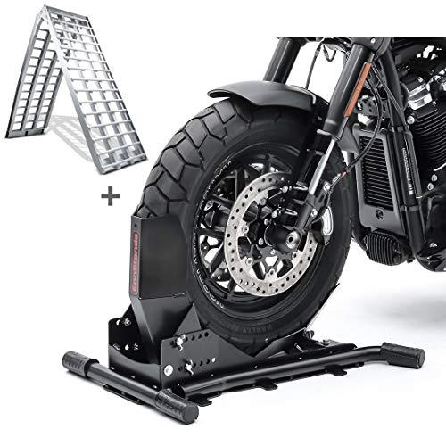 Set Motorradwippe Constands Easy Vario + Auffahrrampe Alu V SW5