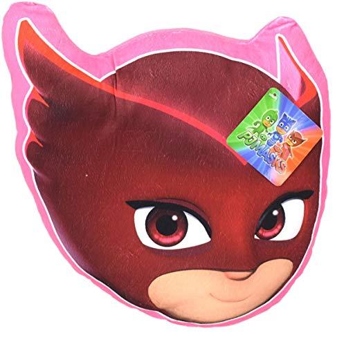 PJ Masks Owlette 3D Kissen pink Plüschkissen Kuschelkissen Dekokissen Plüsch