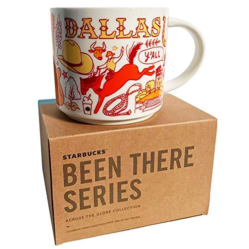 Starbucks Dallas Texas Kaffeebecher, Been There Serie Across The Globe Collection, Keramik, 414 ml