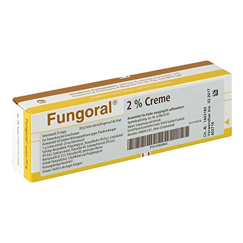 FUNGORAL 2% Creme 30 g