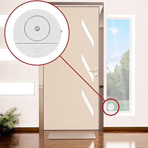 10x Fensteralarm Glasbruchmelder Fenster Alarm Tür Alarmanlage Einbruchschutz
