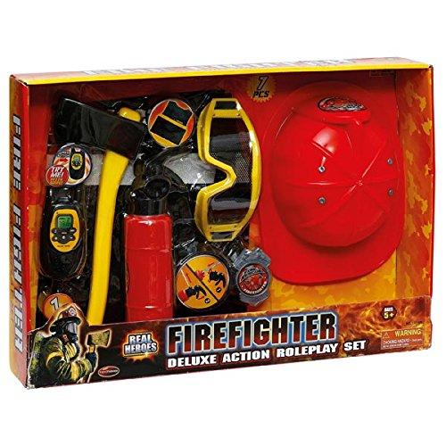 Logitoys - Coffret Accessoires Pompiers