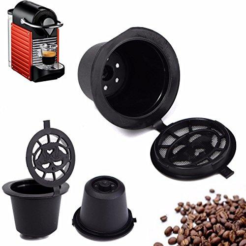Bazaar Home Keuken Navulbare Koffie Capsule Cup Herbruikbare Refilling Filter Voor Nespresso Machine