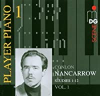 Nancarrow: Player Piano, Vol. 1 by CONLON NANCARROW (2006-07-25)