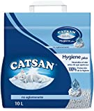 Catsan Hygiene Litière 10 l x 4 l Non Absorbant