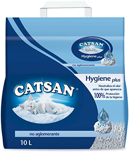 Catsan Lettiera Hygiene, 10 Litri x 4, Non Agglomerante