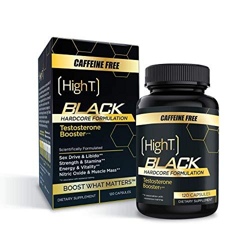 High T Black Caffeine Free- Total Testosterone Booster