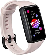 HONOR Band 6 Fitnesstracker met Hartslagmeter, 1.47 inch AMOLED Touchscreen, 14 Dagen Batterijduur, SpO2-bewaking, 5 ATM, ...