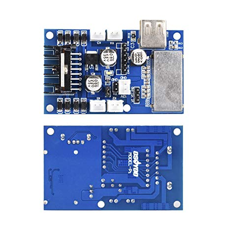 OSOYOO 4WD L298N Motor Driver Board Dual H Bridge DC JST Connectors for Robotic Smart Car for Arduino and Rapsberry Pi