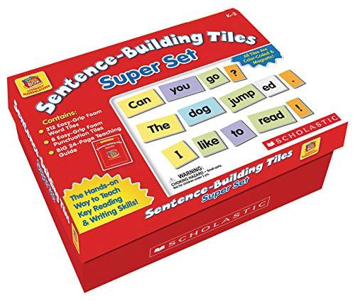 Scholastic Sentence Building Tiles Super Set