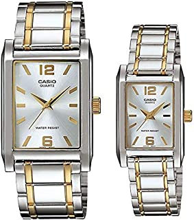 Casio His and Her pair watch MTP/LTP-1235SG-7A