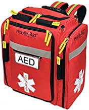 AED Backpack, Nylon, Red