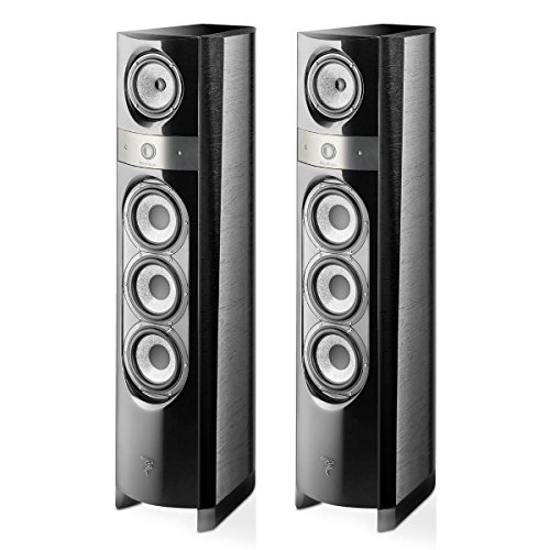 Fantastic Deal! Focal Electra 1038 BE 3-Way Bass-Reflex Floorstanding Speakers - Pair (Black Ash)