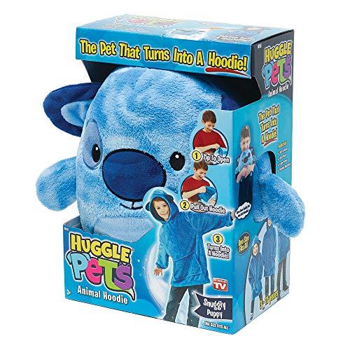 Ontel Huggle Pets Blue Puppy Animal Hoodie