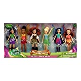 Disney The Pirate Fairy Exclusive 5 Inch Doll Faries Doll Set [Vidia, Iridessa, Larina, Tinker...