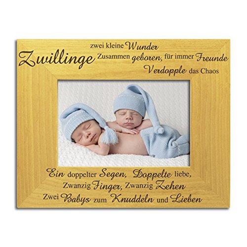 Zwillings-Bilderrahmen, tolles solides Holz, Drillings Rahmen, Neugeborene Drillinge, Neue Baby Drillinge, Geschenk für Drillinge, Drillings-Geschenk
