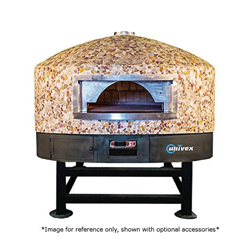 Univex DOME59RT Rotating Dome Gas Pizza Oven, (14) 12' Pizza Capacity, 55' Diameter Cooking Chamber, Rounded Exterior Top