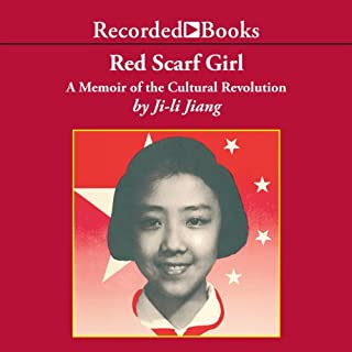 Red Scarf Girl audiobook cover art