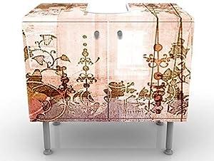 Apalis Mobile per lavandino di Design, 60x 55x 35cm, Regolabile