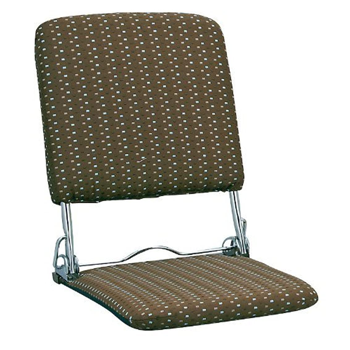 海嶺衰える事実ミヤタケ(宮武製作所) オリタタミ座椅子 ブラウン YS-424