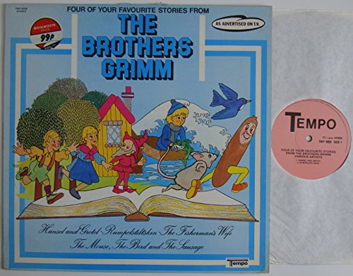 """Four Of Your Favourite Stories From The Brothers Grimm 12\"""" LP (1976) Tempo Records TMP 9009"""