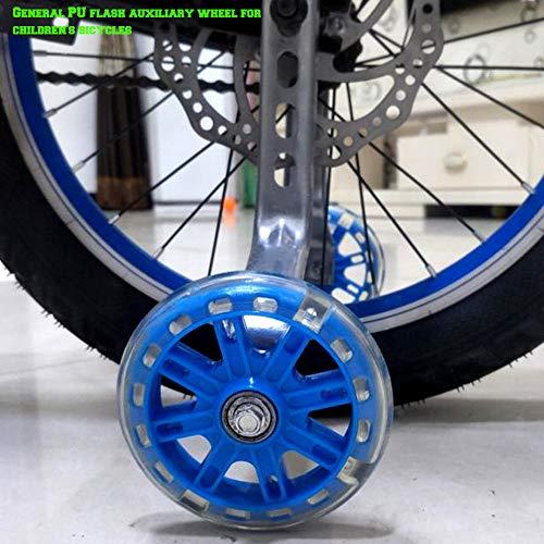 """CMYKZONE Accesorios De Rueda De Bicicleta para NiñOs, Soporte De Rueda Auxiliary - Proporcionar La Seguridad Y Estabilidad Necesarias - para El 12"""" 14"""" 16"""" 18"""" 20"""" De NiñOs Riding Equipment"""