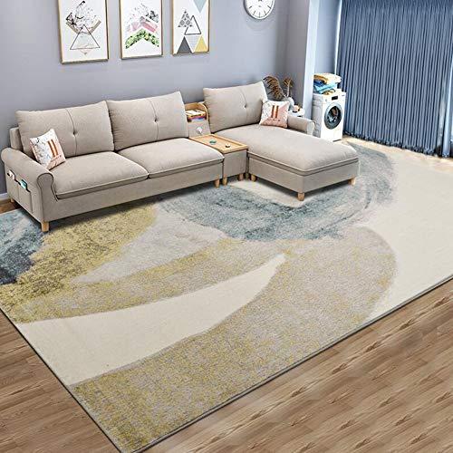 QIDI tapijt, woonkamer nachtdeken, thee tafelkleed, huishouden, slaapkamer mat, rechthoekig, machine geweven, wasbaar (kleur: LQ-3, maat: 3 * 4M)