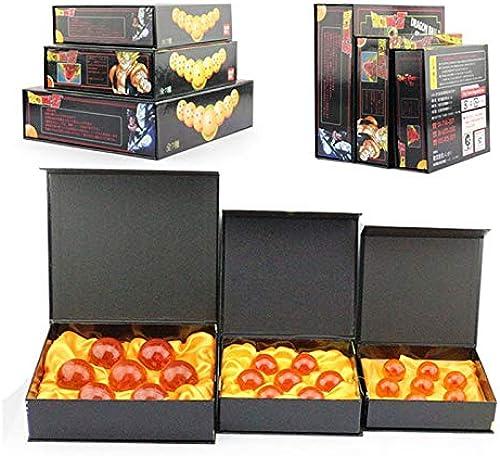 B123 Action & Toy Figures - 7pcs Set Dragon Ball Z 7 Stars Crystal Ball Dragonball 3 3.5cm   4.5cm  5.7cm Box Packaged by 1 PCs