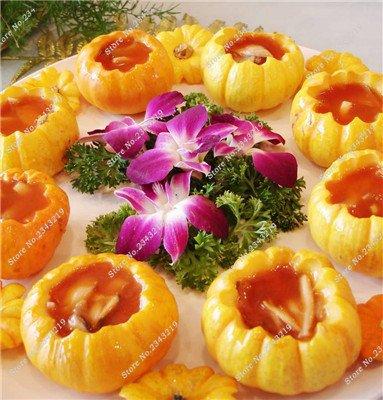 Graines de citrouille Cucurbita fil d'or fruits citrouille melon et légumes des semences meilleures ventes de l'extérieur, Bonsai 30 Plantes en pot Pcs 20