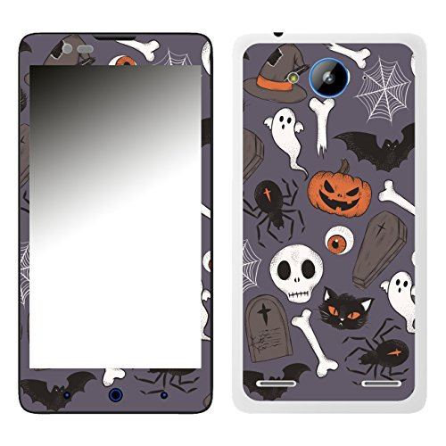 DISAGU SF-106526_1209 Design Folie für ZTE Blade L3 Plus - Motiv Halloweenmuster 01