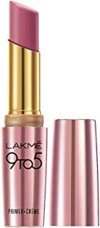 Lakme 9To5 Primer + Crème Lip Color, Wine Order CP4, 3.6 g
