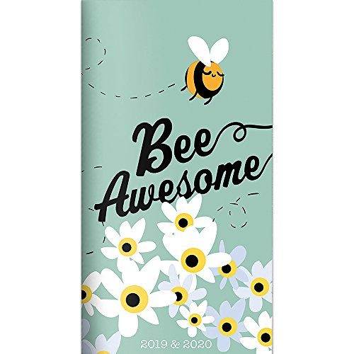 Bee Awesome 2-Year 2019-2020 Pocket Planner
