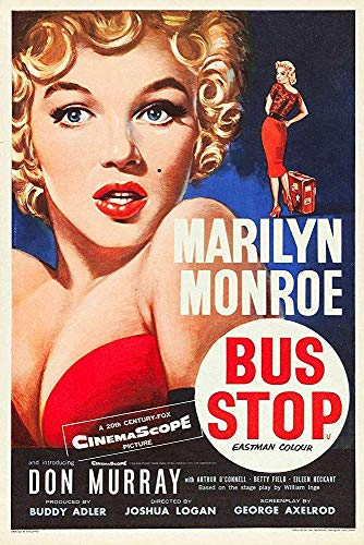 Kia Haop Bus Stop Marylin Monroe Film Metalen Fender Blik Teken Plaque Straat Thuis Garage Gym Tuin Party Kamer Art Poster Muursticker Decoratie