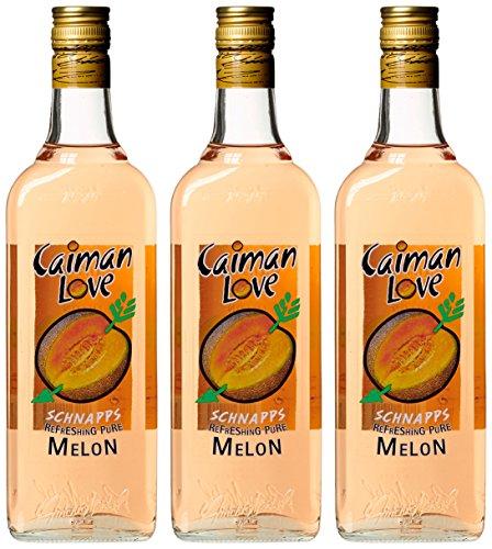 Licor Melonenlikör Caiman Love Früchte (3 x 0.7 l)